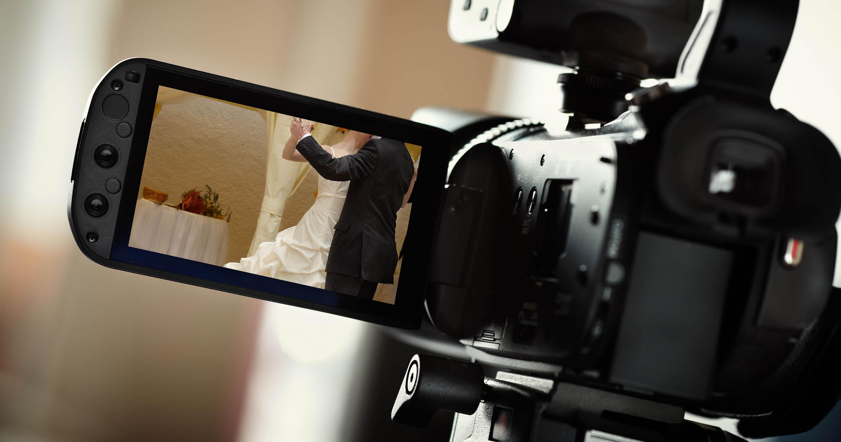 ウェディングビデオ撮影