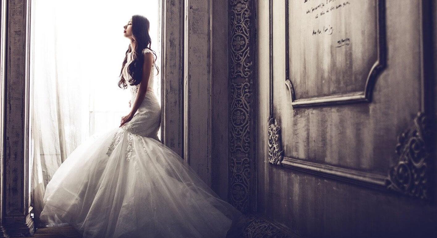 美しく見えるためのウエディングドレスの着方