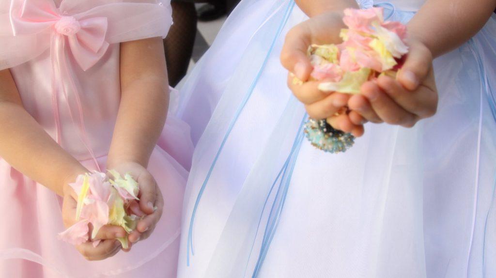 子供と一緒に楽しめる結婚式の演出