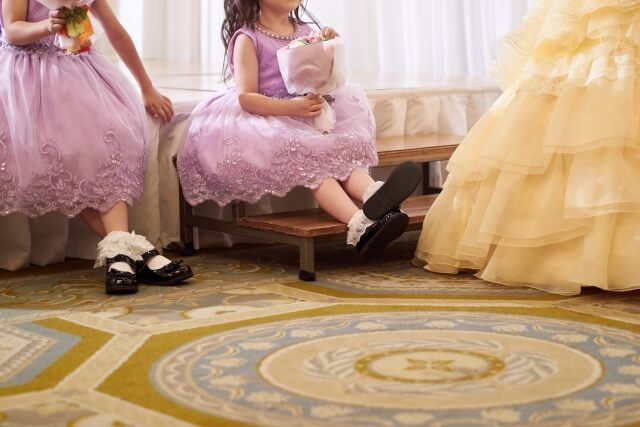 子供のドレス姿は可愛らしいけれど主役は新婦であることを忘れないで!