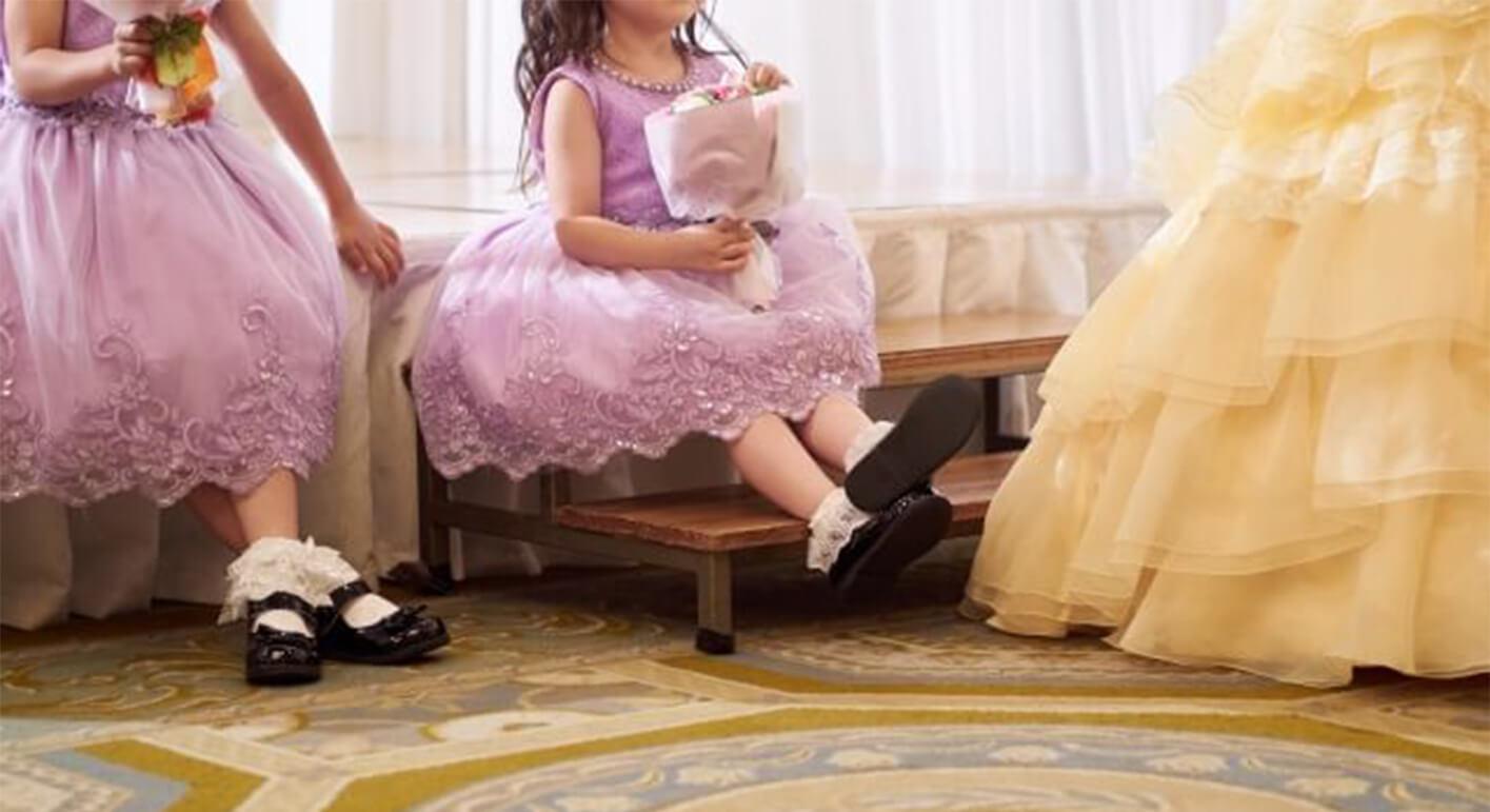 子供がドレスを着られるのは何歳まで?子供と一緒に楽しむ演出をご紹介
