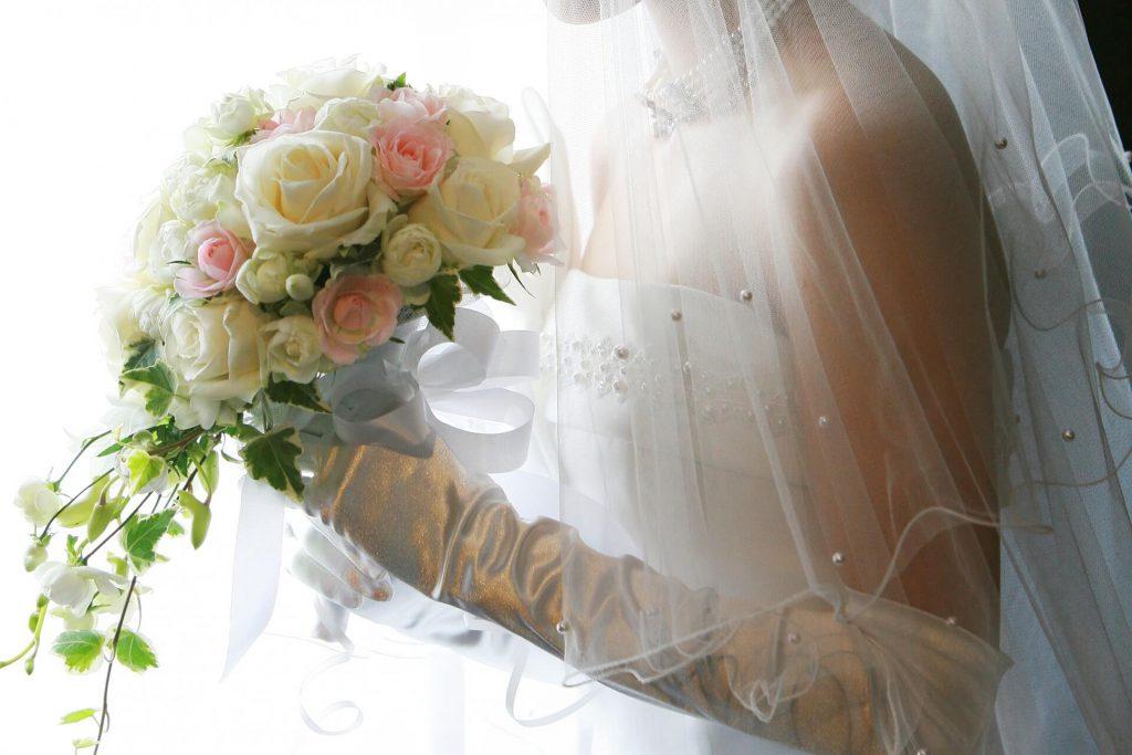 ウエディングドレスのパーソナルカラー